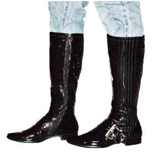 DC - Kurz Stiefel in schwarz Lack