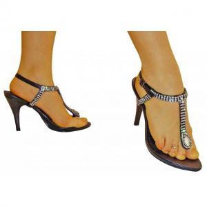 FB - Sandaletten aus Paris in schwarz ..