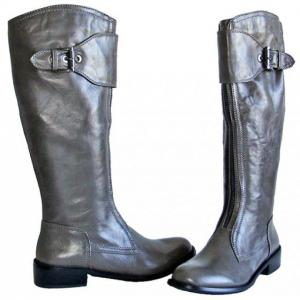 CA - Stiefel in Grau mit Zier - Zip in..