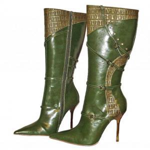 G - Stiefel in oliv