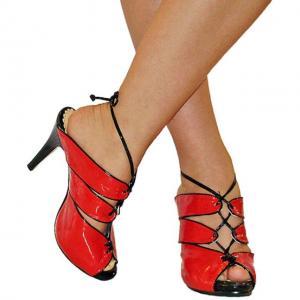 DC - Sandals Lack rot