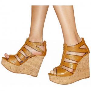 FFC - Sandals whiskey braun im Kork De..