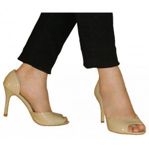 BA - Pumps aus Paris beige