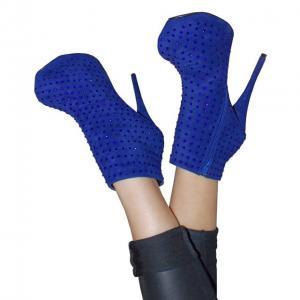 BBB - Stiefeletten Blau