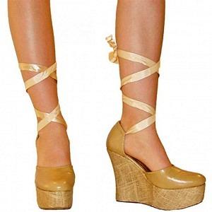 Sandaletten zum Binden